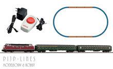 Piko 57132 Analoge startset DB diesel locomotief V 220 met 2 sneltrein rijtuigen 1:87 H0