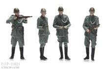 Artitec 387.355 Nederlandse Politietroepen 1940 4 stuks 1:87 H0