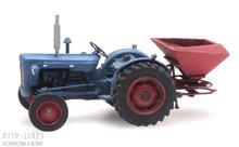 Artitec 387.347 Tractor Fordson met kunstmeststrooier 1:87 H0