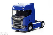 Herpa 306706 Scania CS20 ZM Blauw 1:87 H0