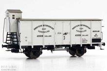 """Brawa 49064 NS/SS Gesloten wagen """"Drentsche Boterverkoop"""" 1:87 H0"""