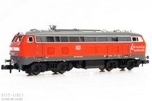 "Fleischmann 723611 DB Diesel locomotief BR 218 ""DB AutoZug SyltShuttle"" 1:160 N"