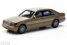 Herpa 38775 Mercedes Benz S-Klasse goud metallic 1:87 H0
