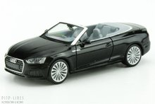 Herpa 38768 Audi A5 cabrio zwart metallic 1:87 H0