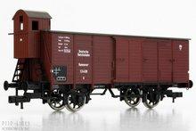 Fleischmann 536602 DRG gesloten wagon met remmershuis 1:87 H0