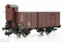 Fleischmann 536603 DB gesloten wagon met remmershuis 1:87 H0