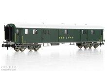 Fleischmann 813003 SBB sneltrein bagage rijtuig Type D 1:160 N