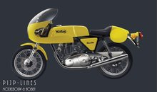 Italeri 4640 Norton 750 Commando P