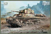 IBG 7204 40M Turan I Hungarian Tank  1:72