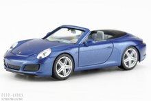 Herpa-038843-Porsche-911-Carrera-2-Cabrio-1:87-H0