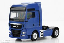 Herpa 308328 MAN TGX XXL 6c Blauw