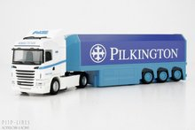 "Herpa 156899 Scania R90 HL SZ ""Pilkington"" 1:87 H0"