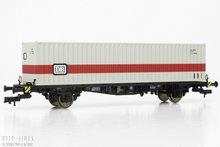 Fleischmann 524002 DB containerwagon Type Lgjs 1:87 H0