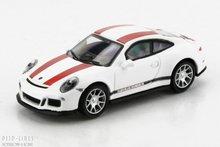 """Schuco 26299 Porsche 911 R """"Wit/rood"""""""