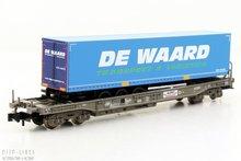 "Fleischmann 845369 NS HUPAC wagen beladen met ""DE WAARD"" trailer"