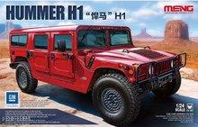 Meng CS-002 Hummer H1 bouwdoos 1:24