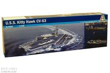Italeri 5522 U.S.S. Kitty Hawk CV-63 1:720