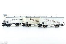 """Fleischmann 538101 DR koelwagen set """"Seefische"""""""