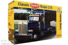 "Italeri 3857 Peterbilt Classic model 378 ""Long Hauler"" 1:24"