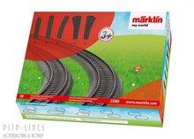 Marklin 23300 Märklín my world kunststof rails uitbreiding