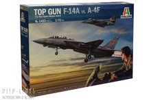 Italeri 1422 TOP GUN F-14A vs. A-4F 1:72