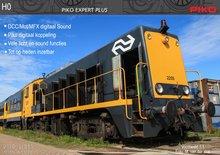 "Piko 55902 NS Diesellocomotief 2200 ""2205"" DCC Sound / Dig. Koppeling NS Diesellocomotief 2200 ""2205"" AC So"