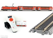 Piko 59023 SmartControl-light start-set DB-AG dubbeldekker trein met BR 146