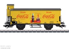 """Marklin 48936 NS Gesloten goederenwagen G 10 """"Coca Cola"""""""