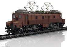 Marklin 39520 SBB Elektrische locomotief serie Fc 2x3/4