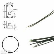 Digikeijs DR60093 Witte led aan draad (5 stuks)