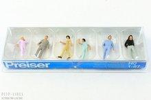 Preiser 14001 Wandelende voorbijgangers 1:87 H0