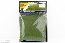 "Woodland FS618 Static Grass ""Medium Green"" 4mm"