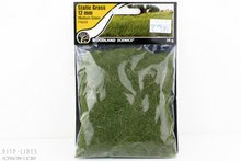 "Woodland FS626 Static Grass ""Medium Green"" 12mm"