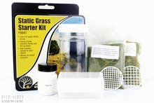 "Woodland FS647 Static Grass ""Starter Kit"""
