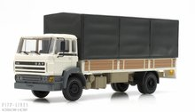 Artitec 487.053.02 DAF kantelcabine open bak met huif wit Anno 1987