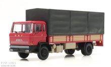 Artitec 487.051.02 DAF kantelcabine open bak met huif rood Anno 1970