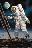 Revell 03702 Apollo 11 Astronaut on the Moon 1:8