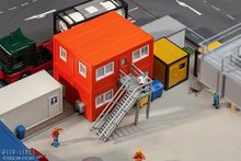 Faller 130135 Vier Bouwcontainers oranje 1:87 H0