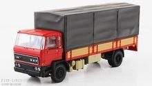Artitec 487.052.02 DAF kantelcabine open bak met huif rood Anno 1982