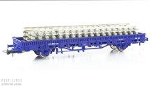 Roco 67583 NL Railpro platte wagen met rails Type Kbs