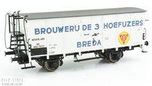 Brawa 49776 NS gesloten wagen Brouwerij de 3 Hoefijzers BredaBrawa 49776 NS gesloten wagen Brouwerij de 3 Hoefijzers Breda